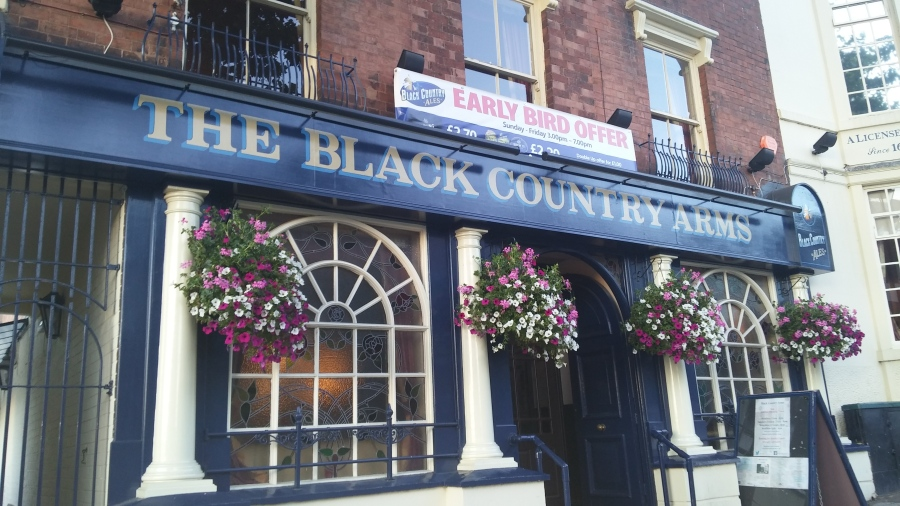 TOP 100 PUBS – BLACK COUNTRY ARMS, WALSALL