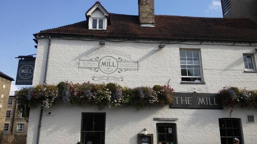 TOP 100 PUBS – THE MILL,CAMBRIDGE