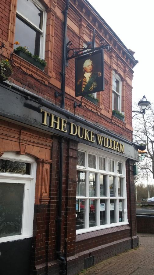 THE DUKE WILLIAM,STOURBRIDGE