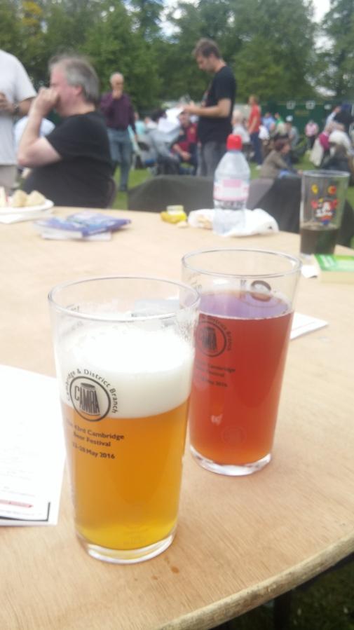 CAMBRIDGE BEER FESTIVAL(S)