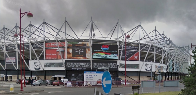 Image result for pride park stadium