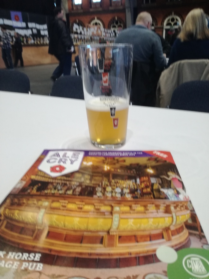 3rd TIME LUCKY AT MANCHESTER BEER FESTIVAL