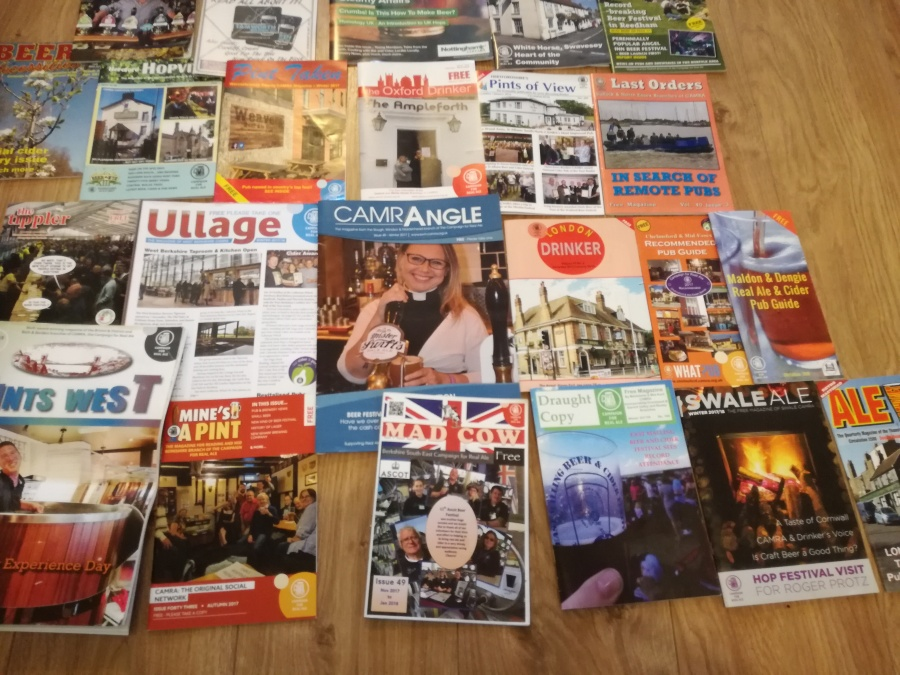THE GREAT CAMRA MAGAZINECLEAROUT