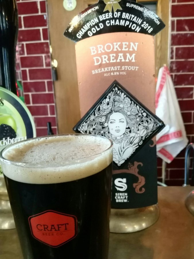 6.5% BREAKFAST STOUT BY THEPINT