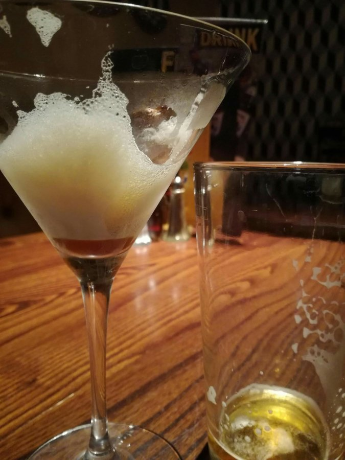 VANILLA ESPRESSO MARTINIS & MARSTON'S PEDIGREE IN A NORTHAMPTON ESTATE PUB
