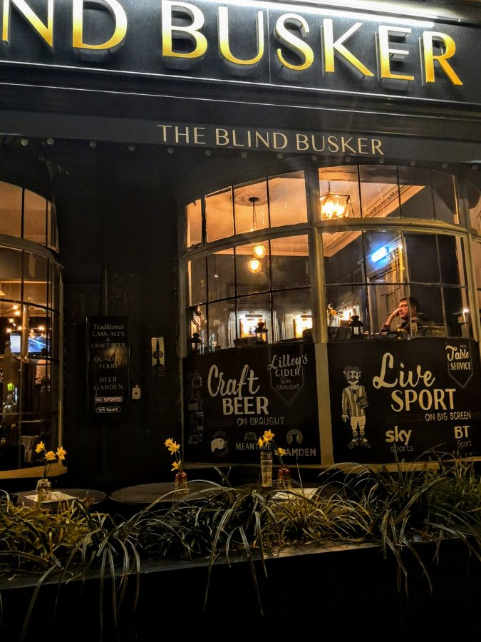 HOVE'S BLIND BUSKER – A STERLING EFFORT