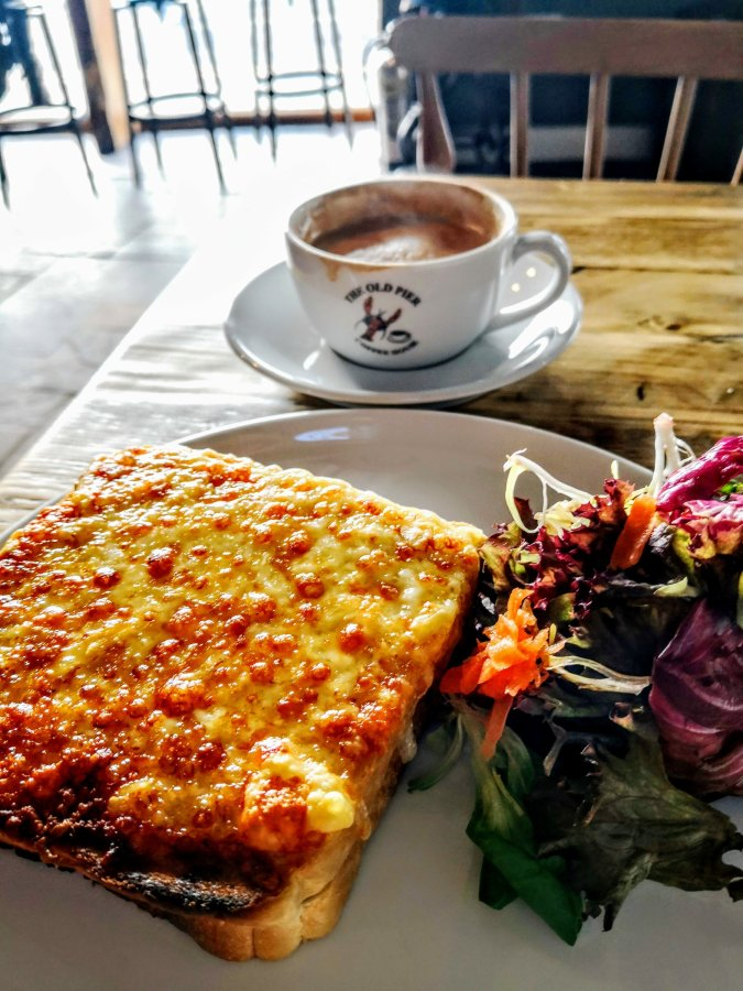 A CROQUE MONSIEUR IN STONEHAVEN