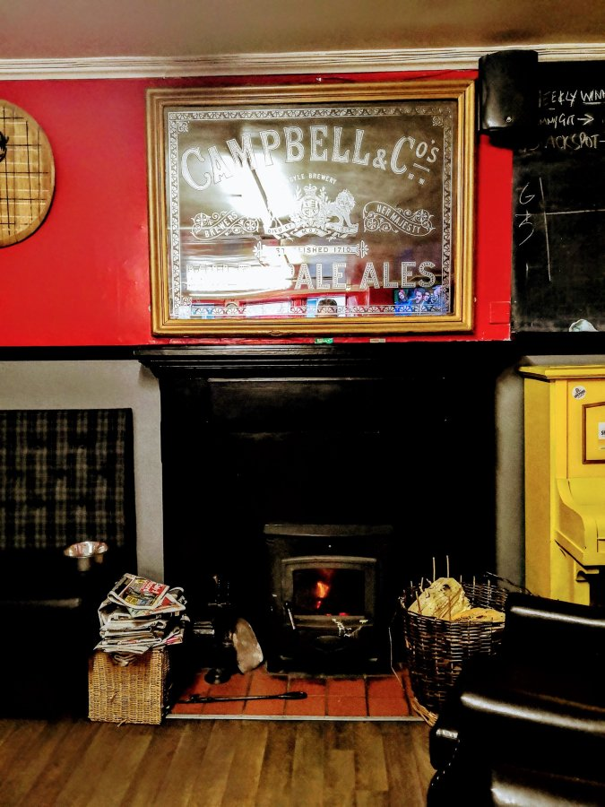 HIDING THE REAL ALE IN A FORRES OF TENNENTS