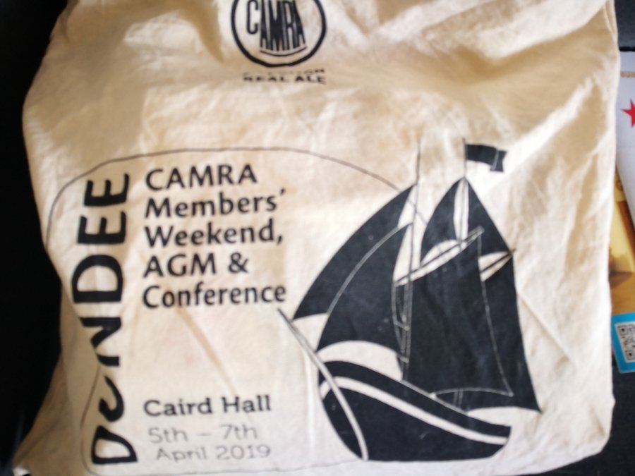 TICKING THE CAMRA AGM