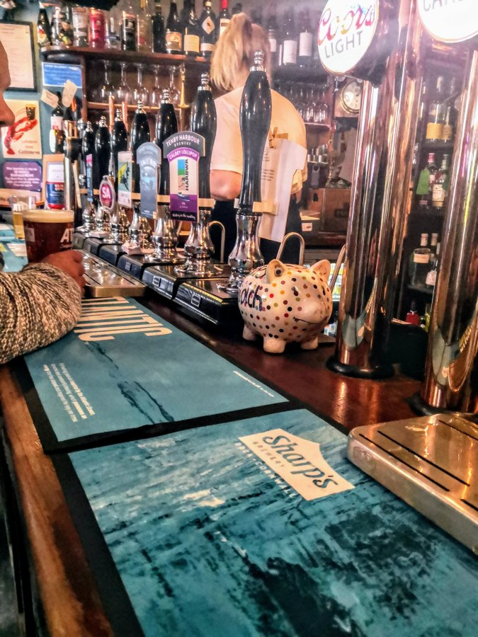 TOP 100 PUBS – HOPE & ANCHOR, TENBY