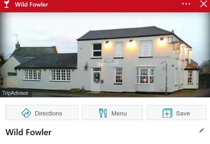 Wild Fowler