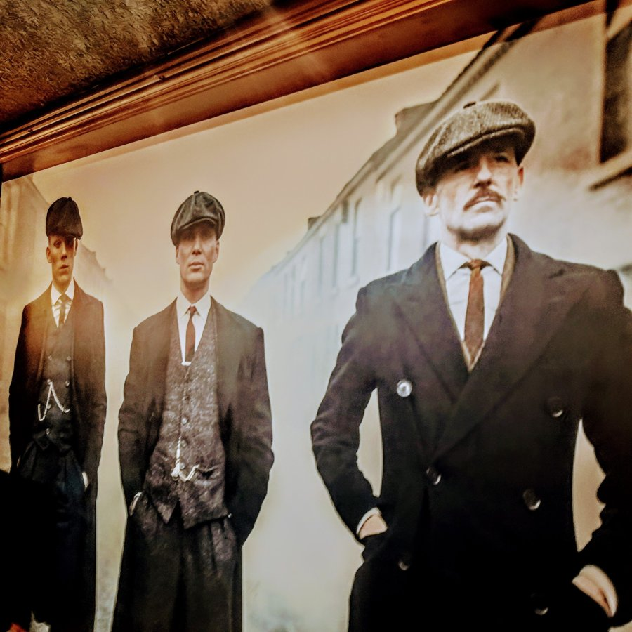 PLAYING A PEAKY BLINDER AT MERRY HILL