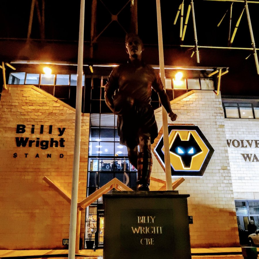 WOLVERHAMPTON – MOLINEUX, MICROS AND MARILYN
