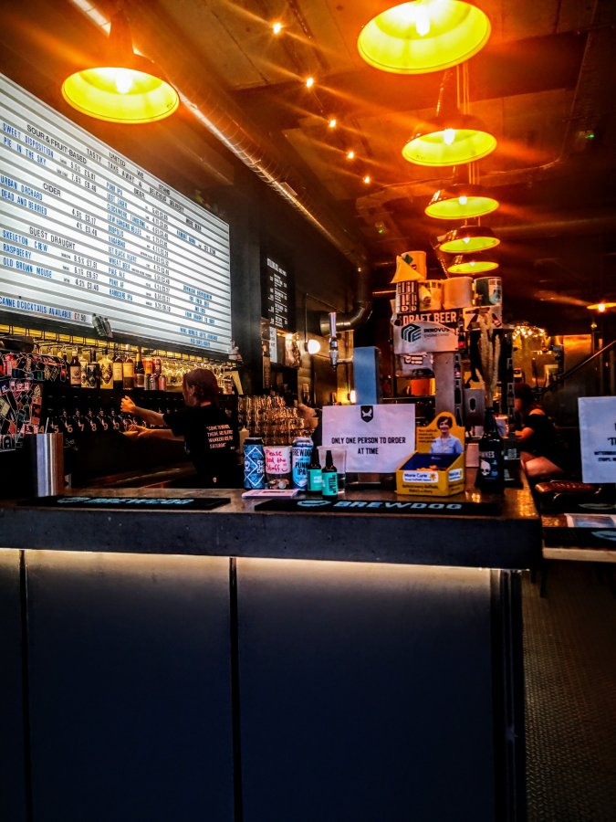 BREWDOG – THE MURK OF KING'S (COLLEGE)