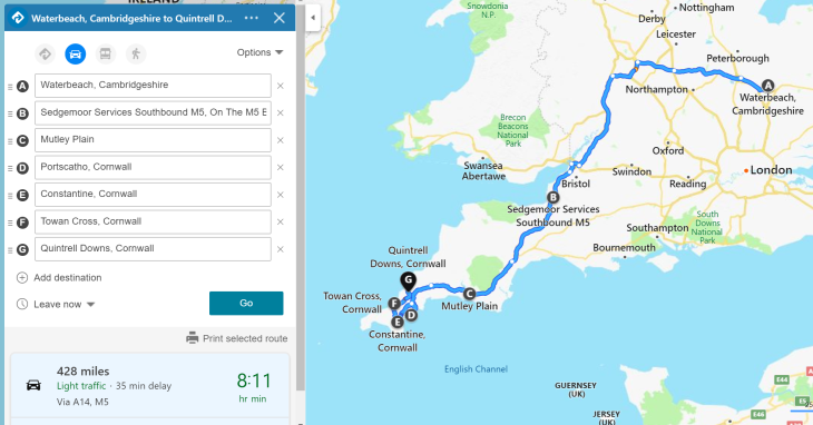 Cornish trip