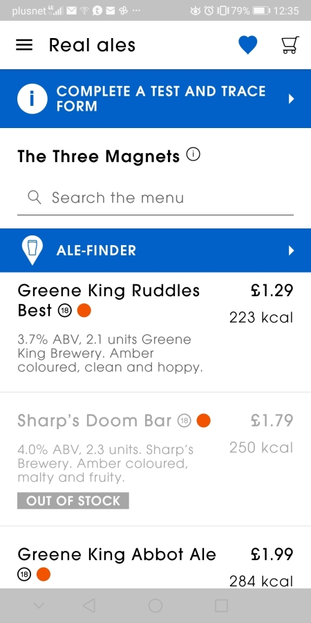 THREE MAGNETS, TWO MOBILITY SCOOTERS, NO DOOM BAR – BACK TO LETCHWORTH WETHERSPOONS