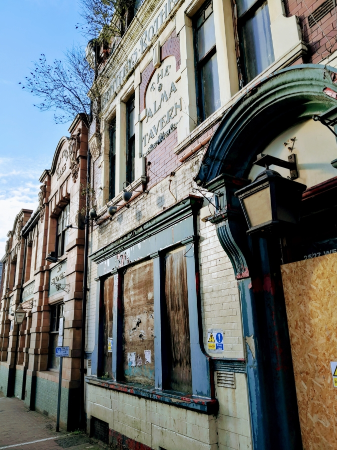 TREES GROWING OUT OF DEAD PUBS IN ROTHERHAM SPECIAL